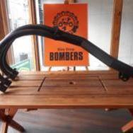 Z1/Z2 アルミフランジ 手曲げショート管 ブラック BOMBERS管 新品